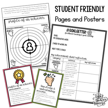 Achievement Chart: Student Portfolio, Feedback, and Goal Setting System