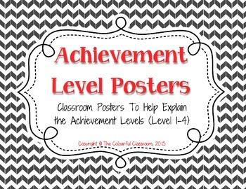 Achievement Levels - A Poster Set