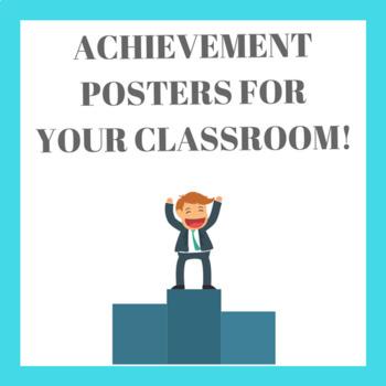 Achievement Posters (8.5 x 11)