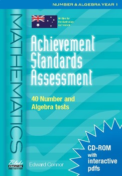 Achievement Standards Assessment: Mathematics - Number & Algebra - Year 1