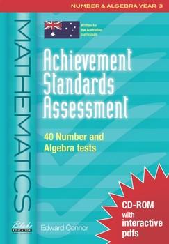 Achievement Standards Assessment: Mathematics - Number & Algebra - Year 3