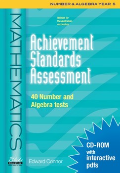 Achievement Standards Assessment: Mathematics - Number & Algebra - Year 5