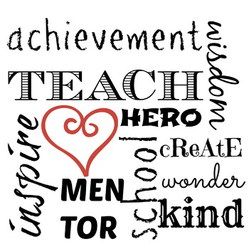 Achievement Teach Kind Inspire Mentor School Hero Create