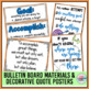 Morning Meeting Activities for Goal Setting Achievement - Theme in Literature