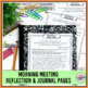 Goal Setting Activities   Goal Setting Morning Meeting Theme in Literature