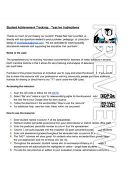 Achievement Tracking Workbook