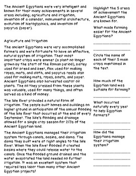 Achievements of the Ancient Egyptians