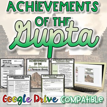 Achievements of the Gupta {Digital AND Paper}