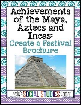 Achievements of the Maya, Aztecs and Incas (Mesoamerica): Festival Brochure