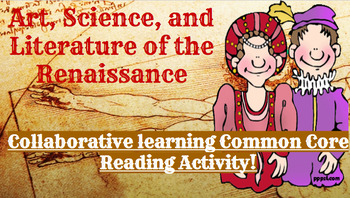 Achievements of the Renaissance: Adaptive and Interactive Common Core Activity!