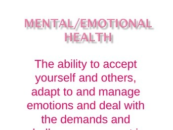 Achieving Good Mental Health ppt