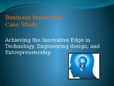 Achieving Innovative Edge in Technology - Lecture