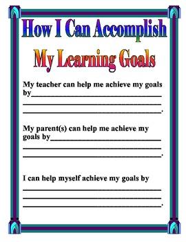 Achieving My Goals
