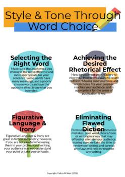 Achieving Style & Tone Through Word Choice