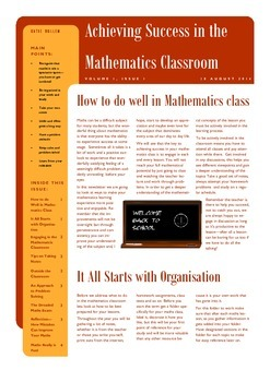 Achieving Success in the Mathematics Classroom
