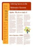 Achieving Success in the Mathematics Classroom - Introduci