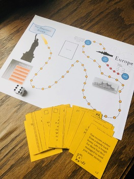 Achieving the American Dream - Turn of the Century Immigration Game