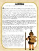 Achilles Greek Myth Close Reading Passage and Questions