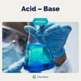 Acid Base Chemistry BUNDLE   Distance Learning