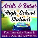 Acid Base Chemistry Exploration Stations