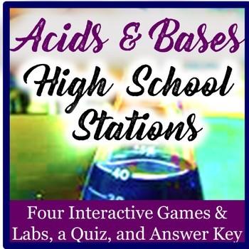 Acid Base Chemistry Exploration Stations