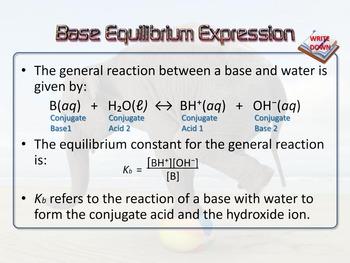 Acid-Base Equilibrium Constants