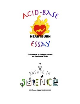 Acid-Base Essay - An Assessment of Acid/Base Function and Experimental Design