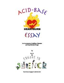 Acid-Base Essay - An Assessment of Acid/Base Function and Experimental Design