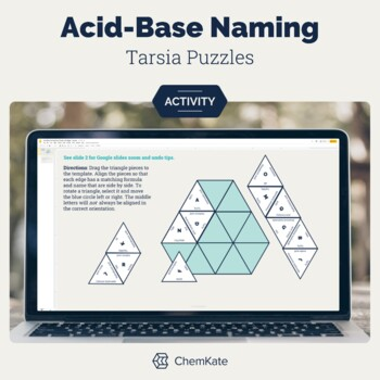 Acid Base Naming Tarsia Puzzle