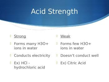 Acid & Base PowerPoint