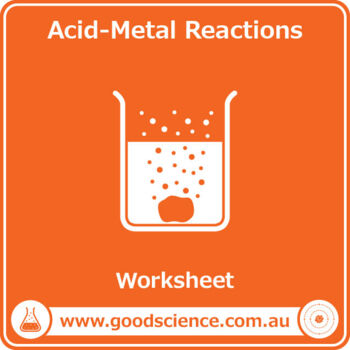 Acid-Metal Reactions [Worksheet] by Good Science Worksheets | TpT