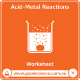 Acid-Metal Reactions [Worksheet]