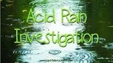 Acid Rain Investigation
