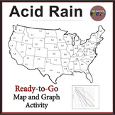 Acid Rain Map and Graph