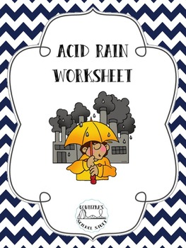Acid Rain Worksheet