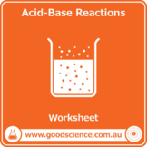 Acid-Base Reactions [Worksheet]