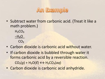 Acid and Base Anhydrides