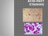 Acid fast staining