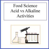 Acid vs Alkaline Food Activity -Food Science Worksheets- Kids in the Kitchen
