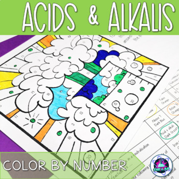 Acids & Alkalis Color-by-Number
