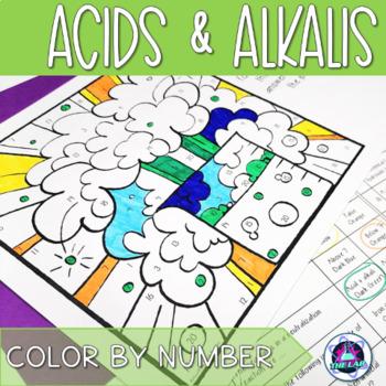 Acids & Alkalis Color-by-Number