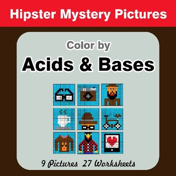 Acids & Bases - Mystery Pictures - Hipsters