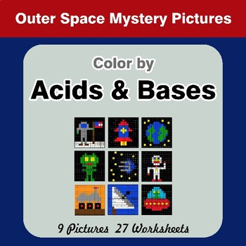 Acids & Bases - Mystery Pictures - Outer Space