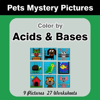 Acids & Bases - Mystery Pictures - Pets