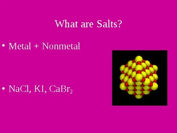 Acids & Bases PowerPoint