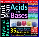 Acids, Bases, and Salts: Topic Bundle: 7 Essential Skills Guided Lessons