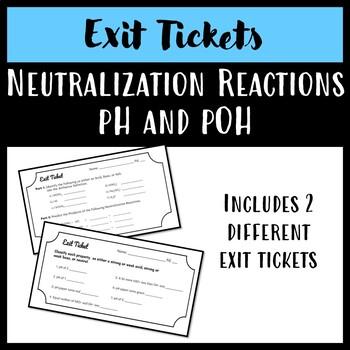 Acids, Bases, Salts, Neutralization Reactions, pH pOH EXIT ...