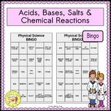 Acids, Bases, Salts, and Chemical Reactions BINGO