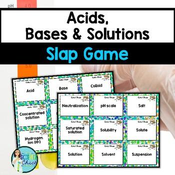 Acids & Bases Slap Game