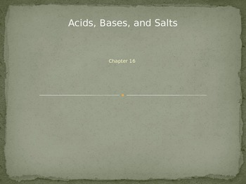 Acids, Bases, and Salts Power Point